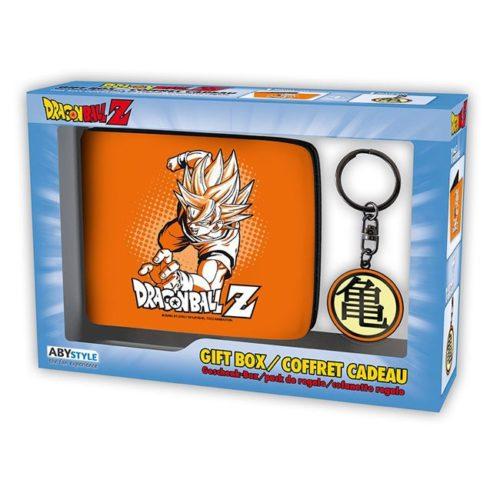 Gift box portafoglio e portachiavi dragonball z
