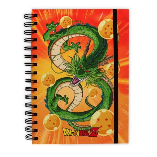 block notes con anelli dragonball z