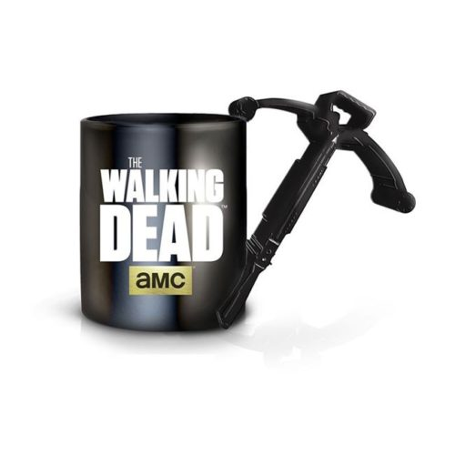 tazza con manico a forma di balestra the walking dead
