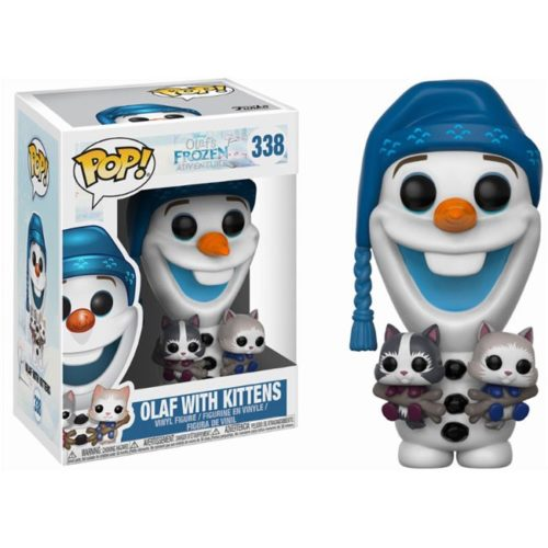 funko pop olaf with kittens frozen disney 338