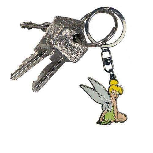 portachiavi campanellino peter pan disney dettaglio chiavi