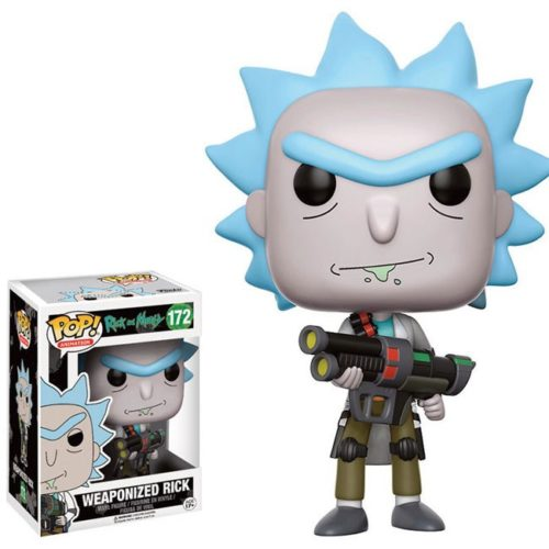 funko pop weaponized rick rick and morty 172