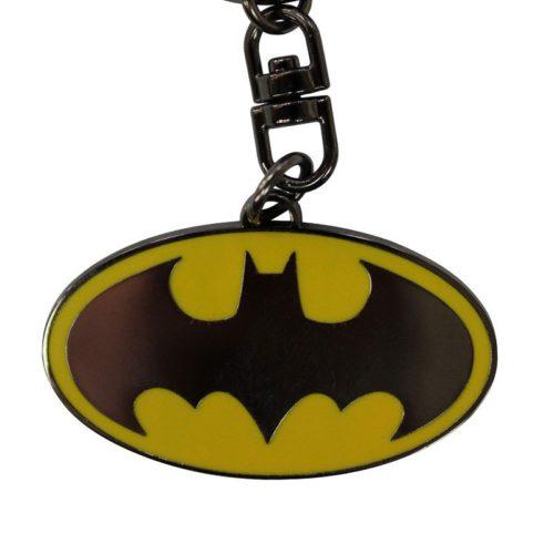 portachiave batman logo DC Comics dettaglio
