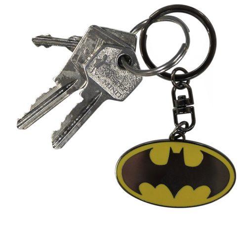 portachiave batman logo DC Comics dettaglio chiavi