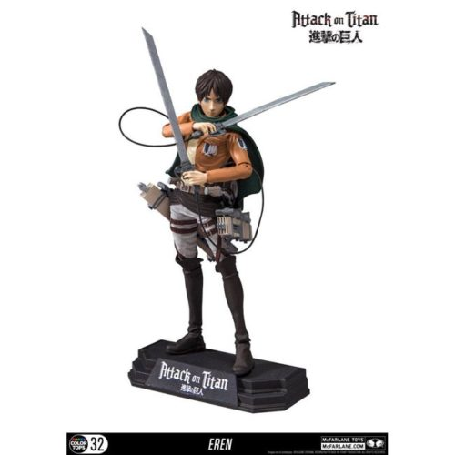 Action Figure Eren Jeger Attack on Titan McFerlaine