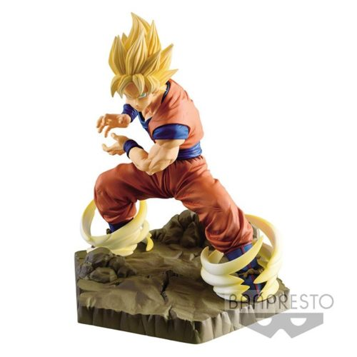 Action Figure Goku Super Sayan Absolute Perfection Dragon ball Banpresto