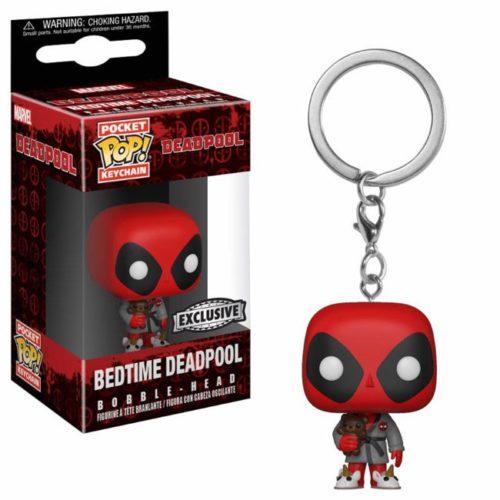 Funko Pocket Keychain Bedtime Deadpool marvel