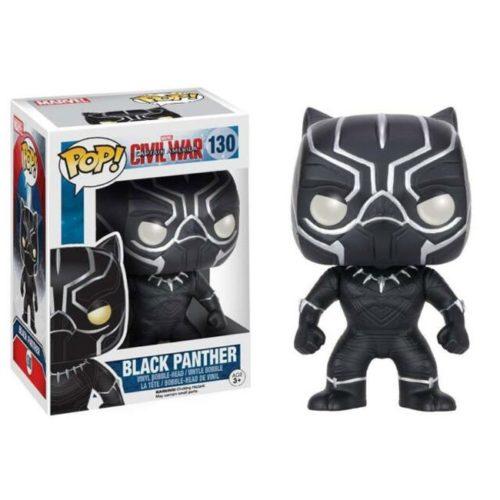 Funko Pop Black- Panther Civil War 130 Marvel