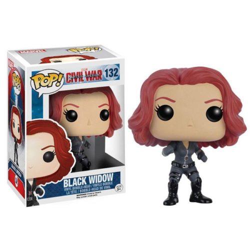 Funko Pop Black Widow Civil War 132 Marvel