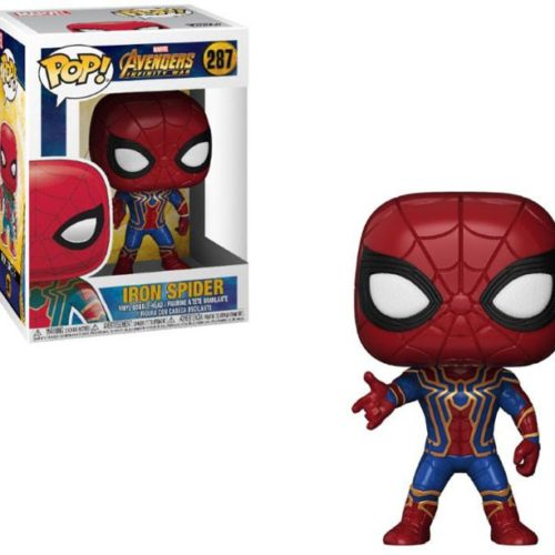 Funko Pop Iron Spider Avengers Marvel 287