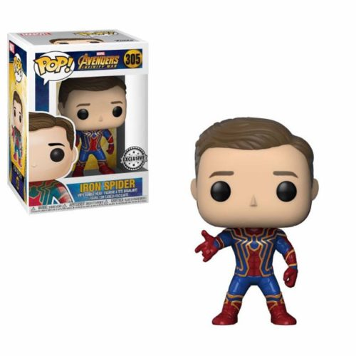 Funko Pop Iron Spider Avengers Marvel 305