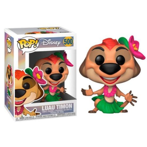 Funko Pop Luau Timon the lion King Disney 500