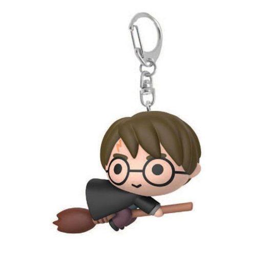 Portachiavi Chibi Harry Potter con scopa