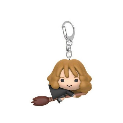 Portachiavi Chibi Hermione Granger con scopa
