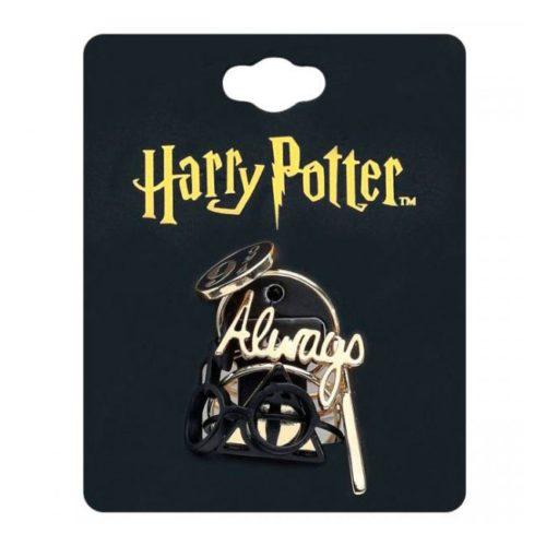 Set 5 Anelli con simboli Harry Potter