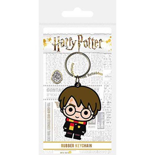portachiavi in gomma Chibi Harry Potter