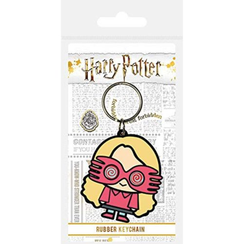 portachiavi in gomma Chibi Luna Lovegood Harry Potter
