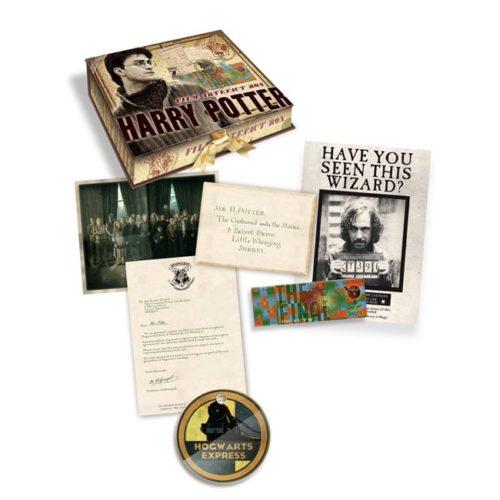 scatola artefatti di Harry Potter