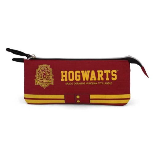 astuccio bordeaux hogwarts Grifondoro harry potter