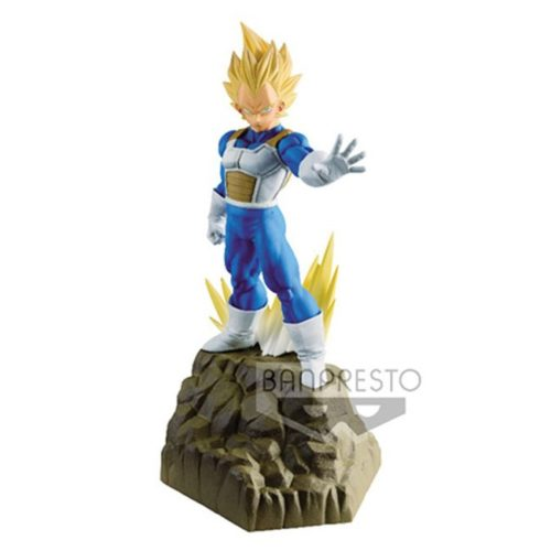 Action Figure Vegeta Super Sayan Absolute Perfection Banpresto