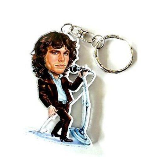 portachiavi Jim Morrison caricatura