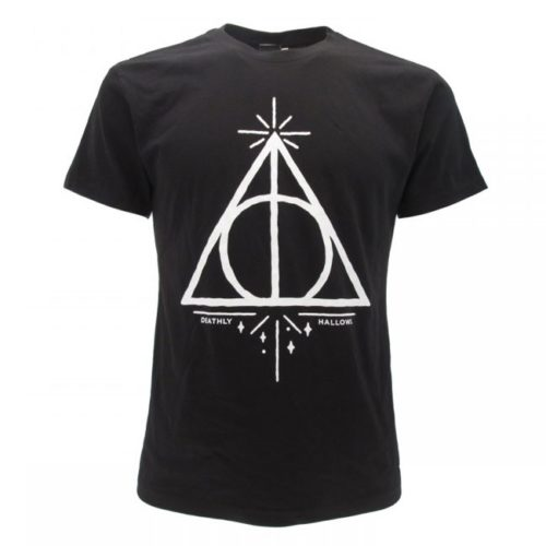 t-shirt Doni della Morte harry potter