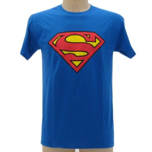 t-shirt Superman logo Dc Comics