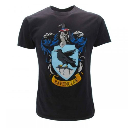 t-shirt blu Corvonero harry potter