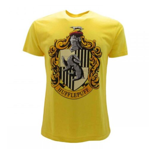 t-shirt gialla Tassorosso harry potter