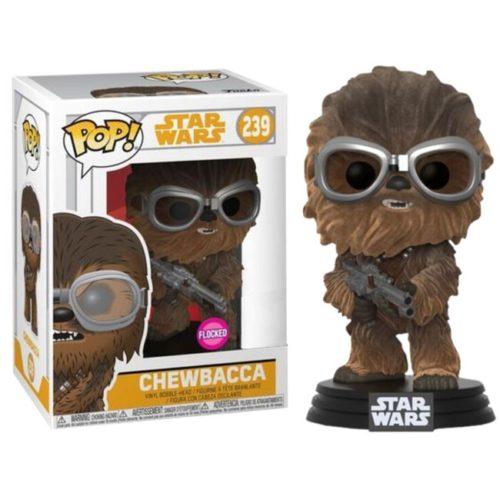 Funko Pop Chewbacca flocked Star Wars 239