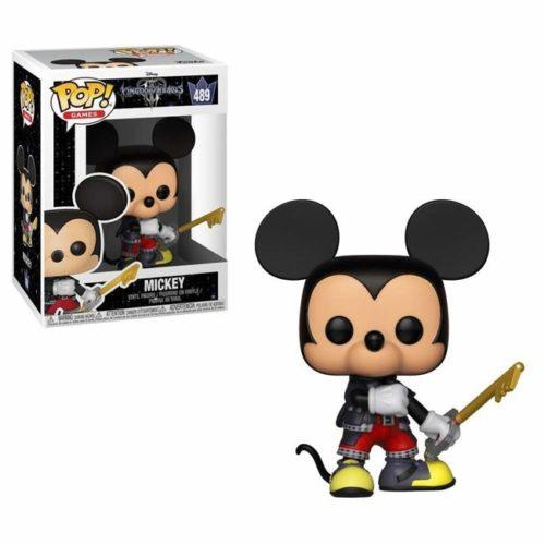 Funko Pop Mickey Kingdom Hearts 489