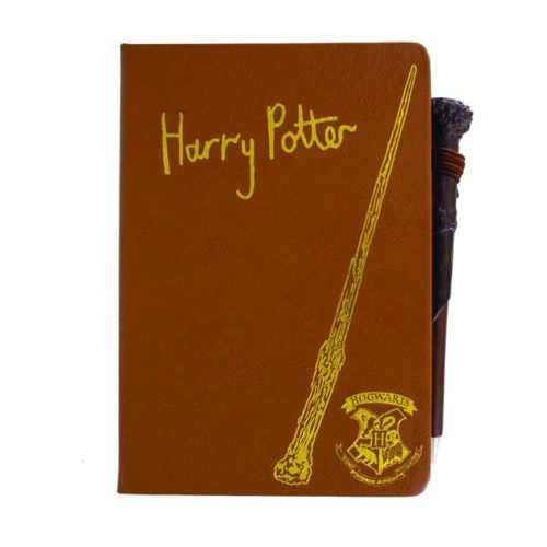 Notebook con penna bacchetta Harry Potter