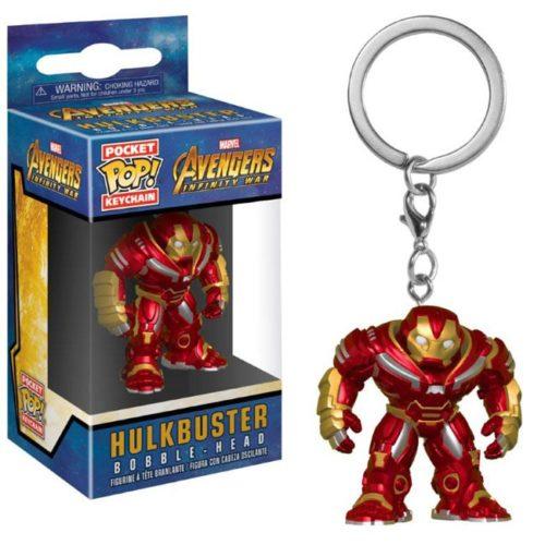 funko pocket keychain Hulkbuster Marvel