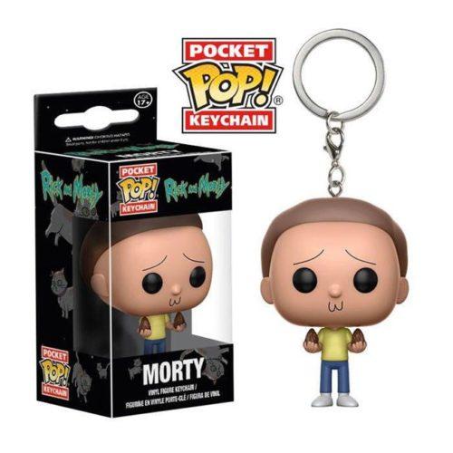 funko pocket keychain Morty Rick e Morty