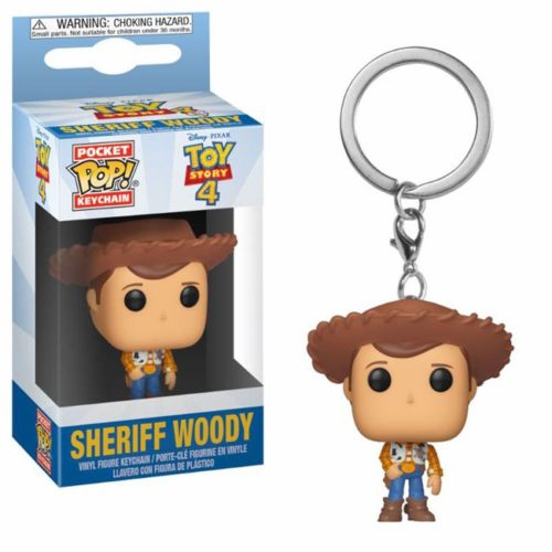 funko pocket keychain sheriff woody toy story 4 Disney Pixar