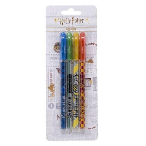 set 4 penne a gel casate Harry Potter