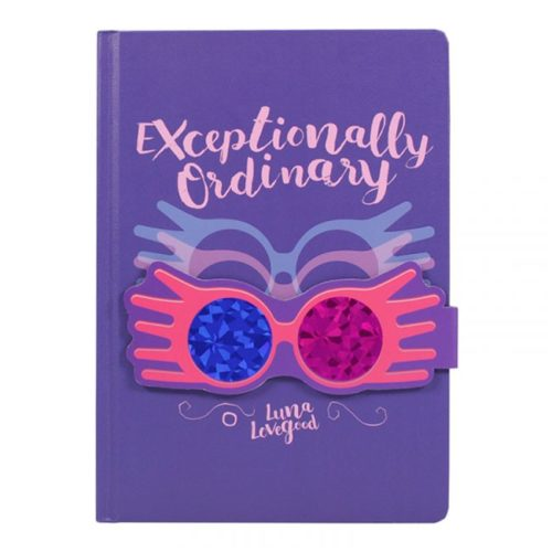 Notebook Exceptionally Ordinary Luna Lovegood Harry Potter