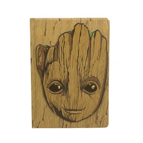 Notebook Groot in rilievo Guardiani della Galassia Avengers Marvel