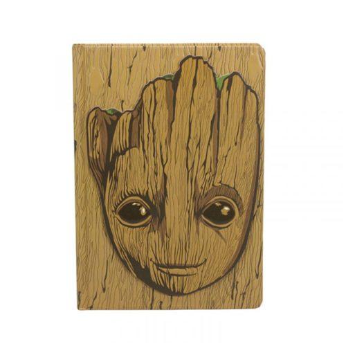 Notebook Groot in rilievo Guardiani della Galassia Avengers Marvel