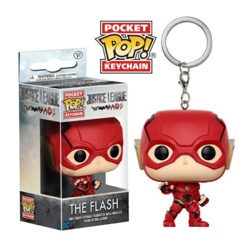 Portachiavi Pocket Pop Keychain The Flash Justice League DC Comics