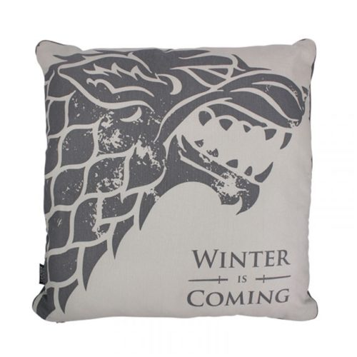 cuscino Stark Winter is Coming Game of Thrones