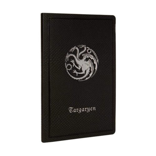 notebook Targaryen effetto pelle Game of Thrones
