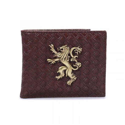 portafoglio Lannister stemma in 3D Game of thrones