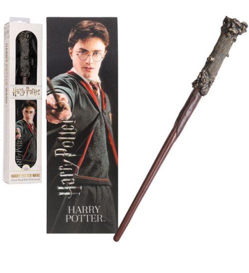Bacchetta Harry Potter con segnalibro 3D