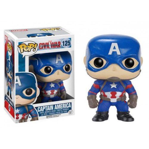 Funko Pop Captain America Civil War Marvel 125