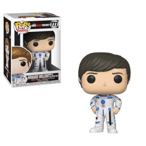 Funko Pop Howard Wolowitz in Space Suit Big Bang Theory 776