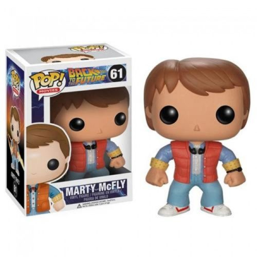 Funko Pop Marty McFly Back to the Future 61