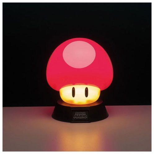 lampada fungo power up super mario