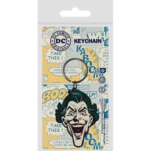 portachiavi Joker in gomma DC Comics