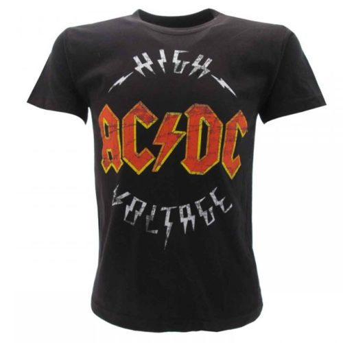 t shirt bambini AC DC High Voltage